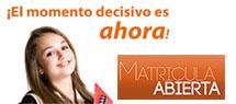 CICLOS FORMATIVOS DE GRADO SUPERIOR – ABIERTO PLAZO DE MATRÍCULA