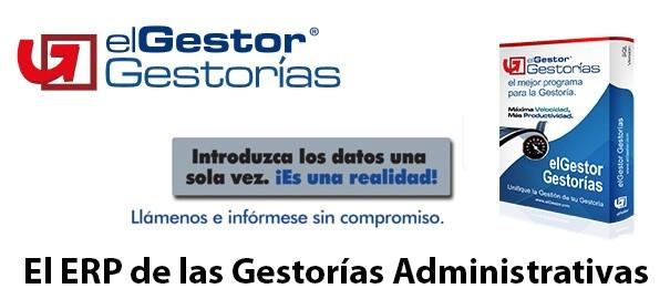 elGestor Gestorías, el ERP de las Gestorías Administrativas