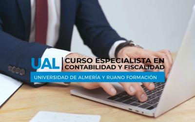 Curso Especialista en Contabilidad y Fiscalidad Universidad de Almería – Reserva tu matrícula ya ¡Últimas plazas!