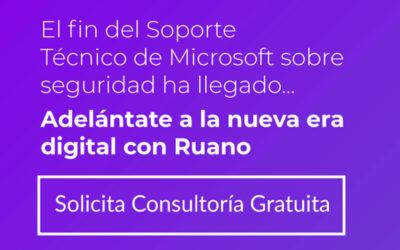 ¡El soporte de sistemas críticos Windows 7 y Server 2008 de Microsoft ha llegado a su fin!!