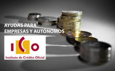 Ya disponibles las primeras ayudas del Instituto de Crédito Oficial para empresas y autónomos