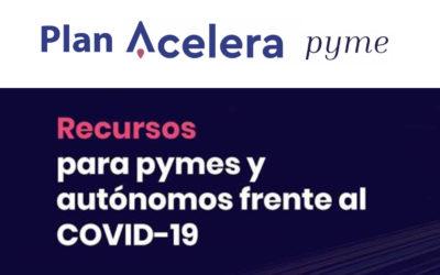 Plan Acelera Pyme para la digitalización y transformación digital de las pymes