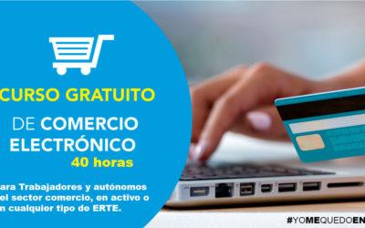 CURSO DE COMERCIO ELECTRÓNICO| 40 horas·100% Gratuito #YOMEQUEDOENCASA #FORMATEENCASA