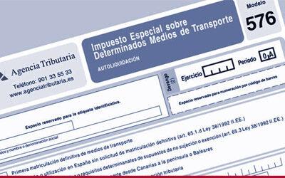 ELGESTOR SE ACTUALIZA AL NUEVO IMPUESTO ESPECIAL SOBRE DETERMINADOS MEDIOS DE TRANSPORTE. 576